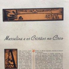 Libros de segunda mano: GRANDES DRAMAS DE LA HISTORIA. CUADERNO CON 2 DRAMAS ILUSTRADOS. EN PORTUGUÉS. EJEMPL. 4. Lote 278873378