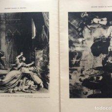 Libros de segunda mano: GRANDES DRAMAS DE LA HISTORIA. CUADERNO CON 2 DRAMAS ILUSTRADOS. EN PORTUGUÉS. EJEMPL. 6. Lote 278875063