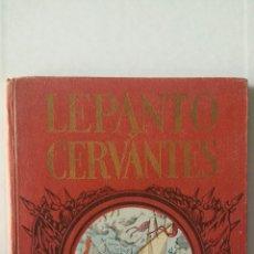 Libros de segunda mano: LEPANTO Y CERVANTES. JUAN GARCÍA. DALMAU CARLES, PLA, S. A.. Lote 278879243
