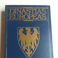 Libros de segunda mano: DINASTÍAS EUROPEAS. HISTORIA GENEALOGÍA Y ESTADO ACTUAL DESDE EL SIGLO V ANDRÉS VON WERN. HERÁLDICA. Lote 279587928