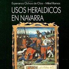 Libros de segunda mano: REVISTA PANORAMA Nº17- USOS HERÁLDICOS EN NAVARRA + LIBRO DE HERÁLDICA ESPAÑOLA- EL DISEÑO HERÁLDICO. Lote 280108273
