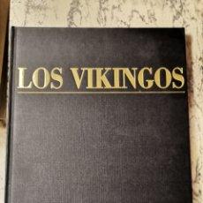 Libros de segunda mano: LOS VÍKINGOS ATLAS CULTURALES DEL MUNDO. Lote 280126428