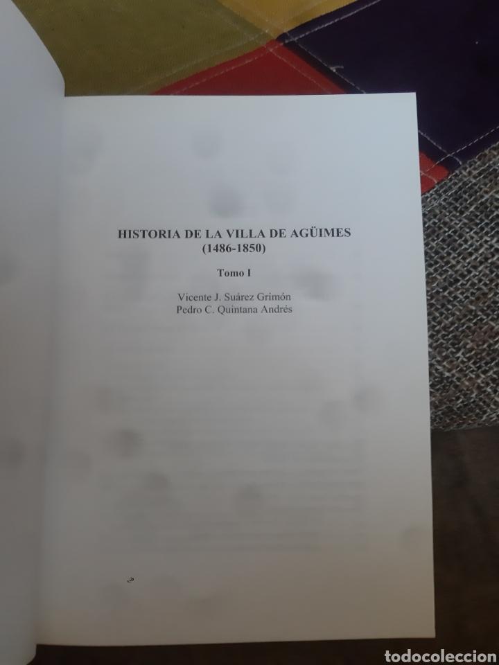 Libros de segunda mano: Libros HISTORIA DE LA VILLA DE AGÜIMES (1486-1850) - Foto 5 - 280516658