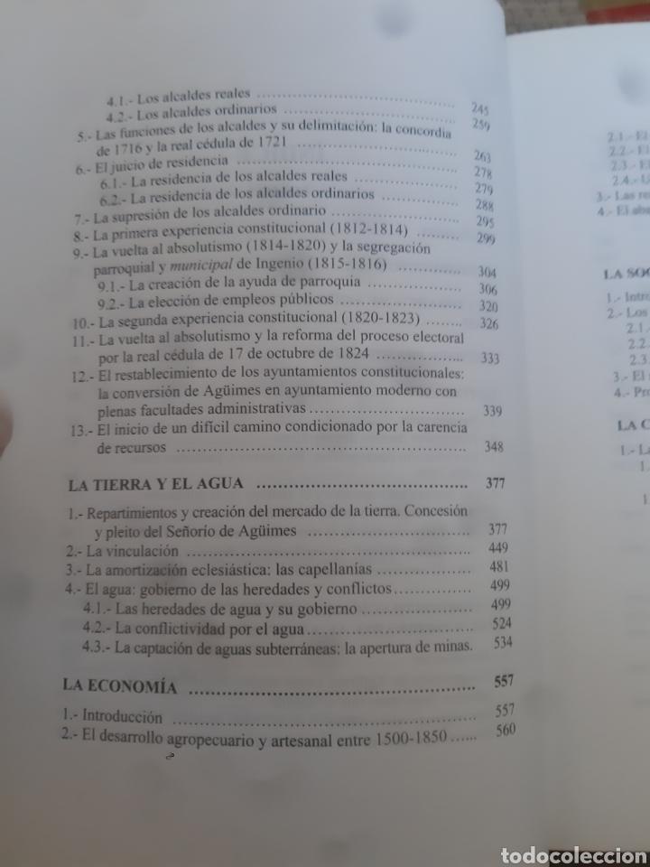 Libros de segunda mano: Libros HISTORIA DE LA VILLA DE AGÜIMES (1486-1850) - Foto 8 - 280516658