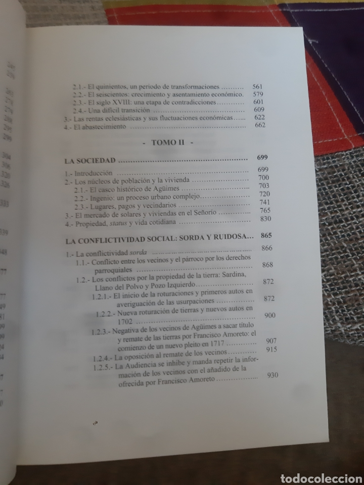 Libros de segunda mano: Libros HISTORIA DE LA VILLA DE AGÜIMES (1486-1850) - Foto 9 - 280516658