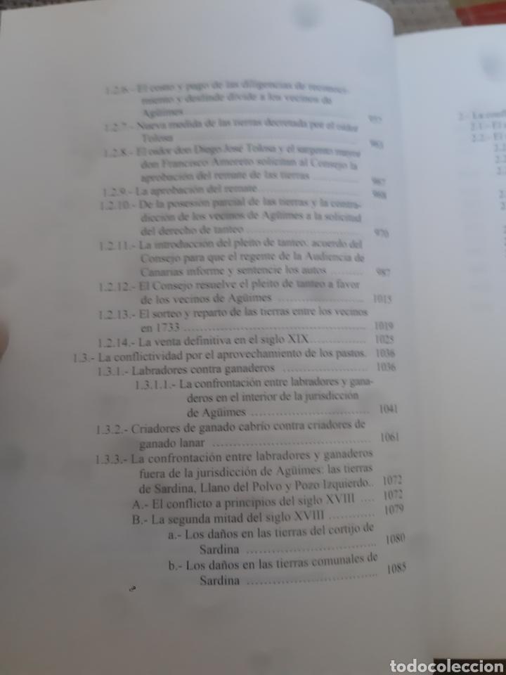 Libros de segunda mano: Libros HISTORIA DE LA VILLA DE AGÜIMES (1486-1850) - Foto 10 - 280516658