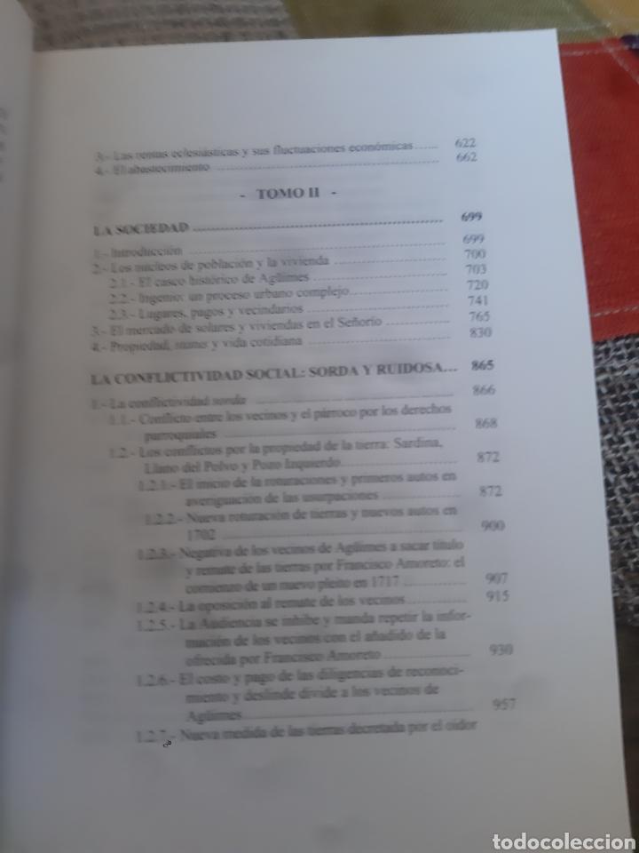 Libros de segunda mano: Libros HISTORIA DE LA VILLA DE AGÜIMES (1486-1850) - Foto 18 - 280516658