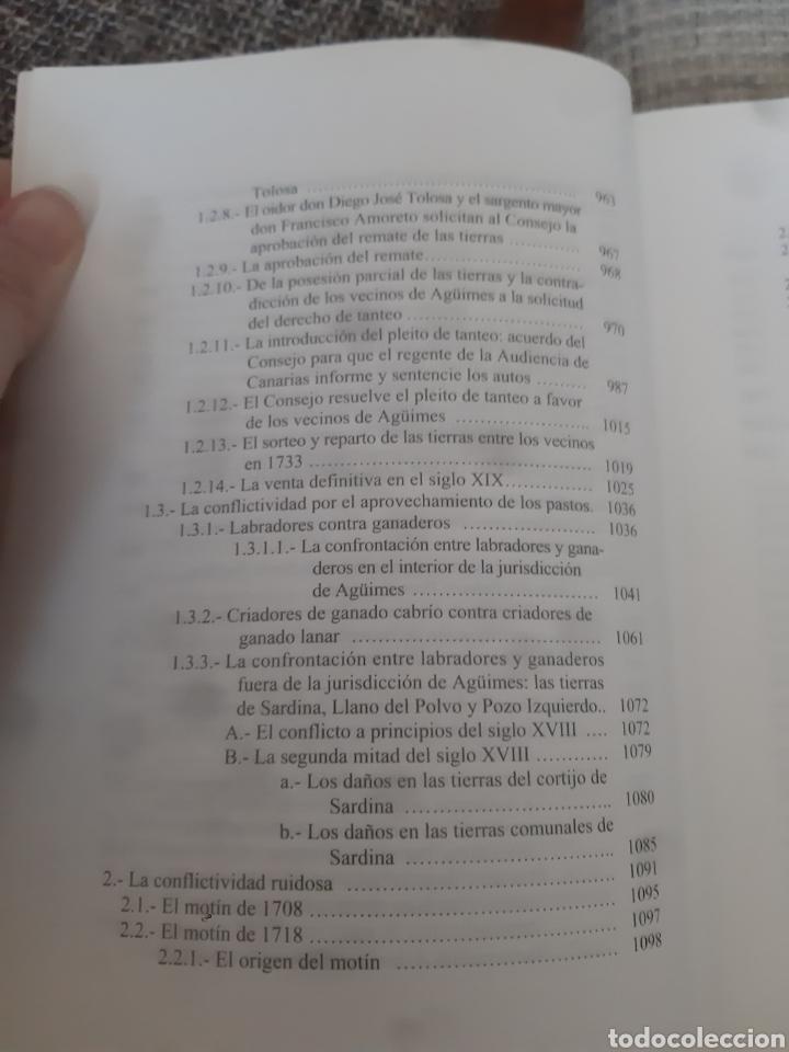 Libros de segunda mano: Libros HISTORIA DE LA VILLA DE AGÜIMES (1486-1850) - Foto 19 - 280516658
