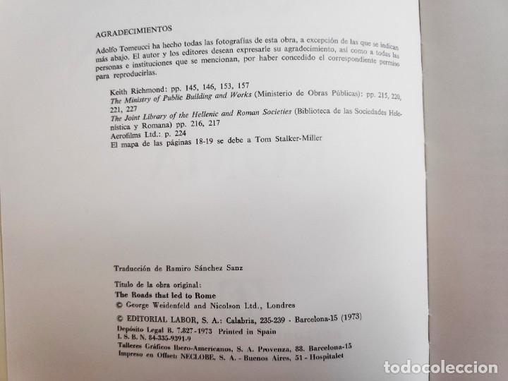 Libros de segunda mano: Los caminos que conducían a Roma, Victor W.Von Hagen, 1973 - Foto 4 - 282192158