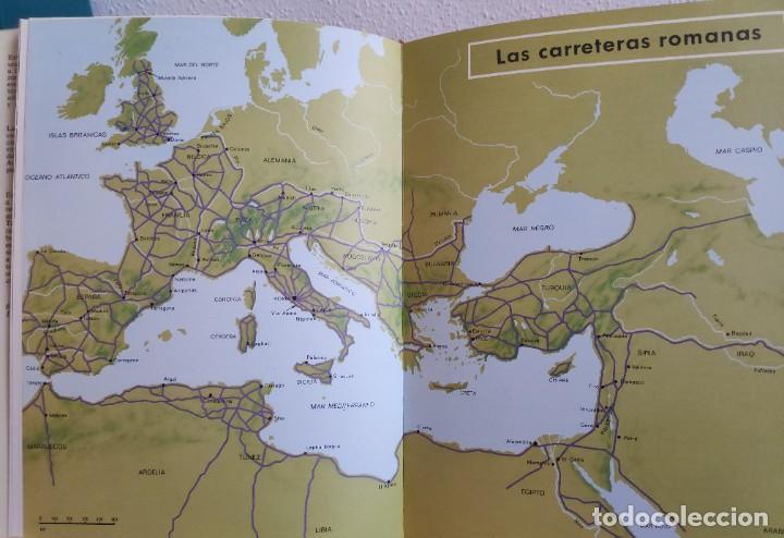 Libros de segunda mano: Los caminos que conducían a Roma, Victor W.Von Hagen, 1973 - Foto 7 - 282192158