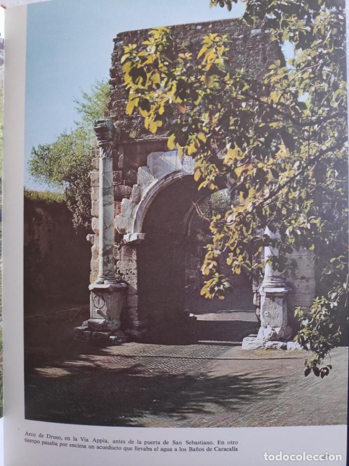 Libros de segunda mano: Los caminos que conducían a Roma, Victor W.Von Hagen, 1973 - Foto 8 - 282192158