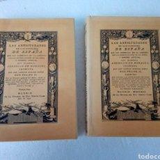 Libros de segunda mano: LAS ANTIGÜEDADES DE LAS CIUDADES DE ESPAÑA - AMBROSIO DE MORALES - 1792 - REPRODUCCIÓN. Lote 284160443