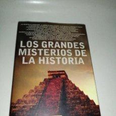 Libros de segunda mano: LOS GRANDES MISTERIOS DE LA HISTORIA - CANAL DE HISTORIA ILUSTRADO TAPA DURA SOBRECUBIERTAS. Lote 285487283