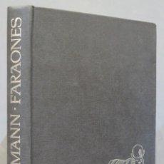 Libros de segunda mano: EL MUNDO DE LOS FARAONES. HANS BAUMANN. Lote 285534393