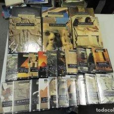 Livres d'occasion: EGIPTOMANÍA : EL FASCINANTE MUNDO DEL ANTIGUO EGIPTO - 6 TOMOS + 20 DVD ESP / CAT / EUS / GAL. Lote 286415898