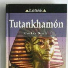 Libros de segunda mano: TUTANKHAMÓN CARTER SCOTT. Lote 287518418