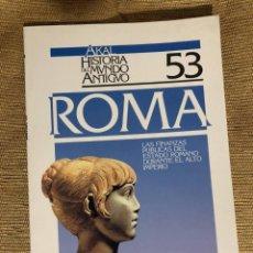 Libros de segunda mano: AKAL HISTORIA DEL MUNDO ANTIGUO. 53 - ROMA- LAS FINANZAS PUBLICAS DEL ESTADO ROMANO - JOAQUIN MUÑOZ. Lote 287603768