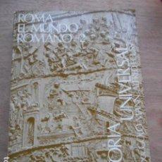 Libros de segunda mano: ROMA EL MUNDO ROMANO 2 ESPASA CALPE. Lote 287691193