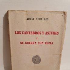 Libros de segunda mano: LOS CANTABROS Y ASTURES Y SU GUERRA CON ROMA. ESPASA CALPE. 1943.. Lote 288707188