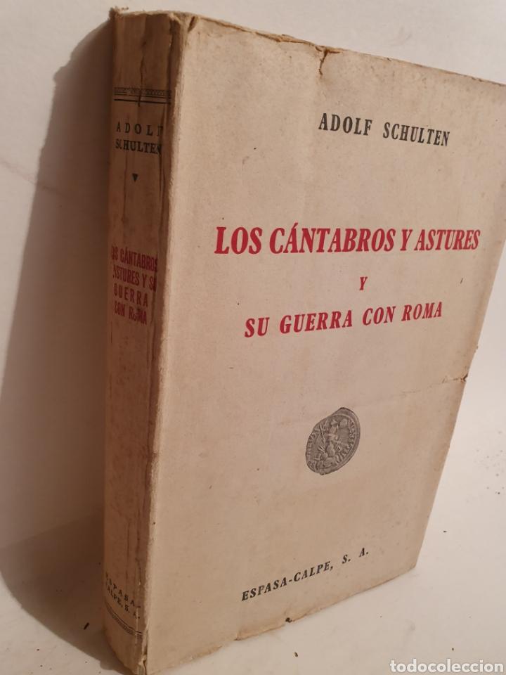 Libros de segunda mano: LOS CANTABROS Y ASTURES Y SU GUERRA CON ROMA. ESPASA CALPE. 1943. - Foto 2 - 288707188
