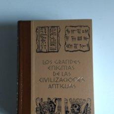 Libros de segunda mano: LOS GRANDES ENIGMAS DE LAS CIVILIZACIONES ANTIGUAS 3 TOMOS. Lote 289315783