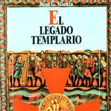 Libros de segunda mano: EL LEGADO TEMPLARIO, UNA HISTORIA OCULTA. TEMPLARIOS EN LA PENÍNSULA - JUAN G. ATIENZA 1991. Lote 289840898