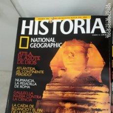 Libros de segunda mano: HISTORIA NATIONAL GEOGRAPHIC. Lote 294961013