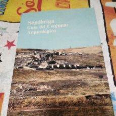 Libros de segunda mano: SEGÓBRIGA GUÍA DEL CONJUNTO ARQUEOLÓGICO. Lote 294974803