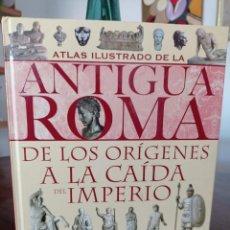 Libros de segunda mano: ATLAS ILUSTRADO DE LA ANTIGUA ROMA, DE LOS ORIGENES A LA CAIDA DEL IMPERIO. CHIARA MELANI.SUSAETA.. Lote 294999823