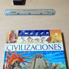 Libros de segunda mano: CIVILIZACIONES ANTIGUAS / IMAGEN DESCUBIERTA DEL MUNDO / PANINI / ALL59. Lote 295516588