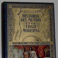 Libros de segunda mano: HISTORIA EDAD MODERNA EL SIGLO DE LUIS XIV 1957. Lote 13647703