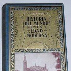 Libros de segunda mano: HISTORIA EDAD MODERNA, LA EDAD CONTEMPORANEA 1955. Lote 14029433