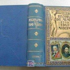 Libros de segunda mano: HISTORIA DEL MUNDO EN LA EDAD MODERNA.TOMO II. L4444 . Lote 6694319