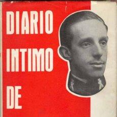 Libros de segunda mano: DIARIO INTIMO DE ALFONSO XIII. Lote 26632453