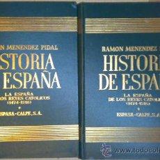Libros de segunda mano: LA ESPAÑA DE LOS REYES CATOLICOS, TOMO XVII DE LA HISTORIA DE ESPAÑA DE MENENDEZ PIDAL, ENVIO GRATIS. Lote 18039038