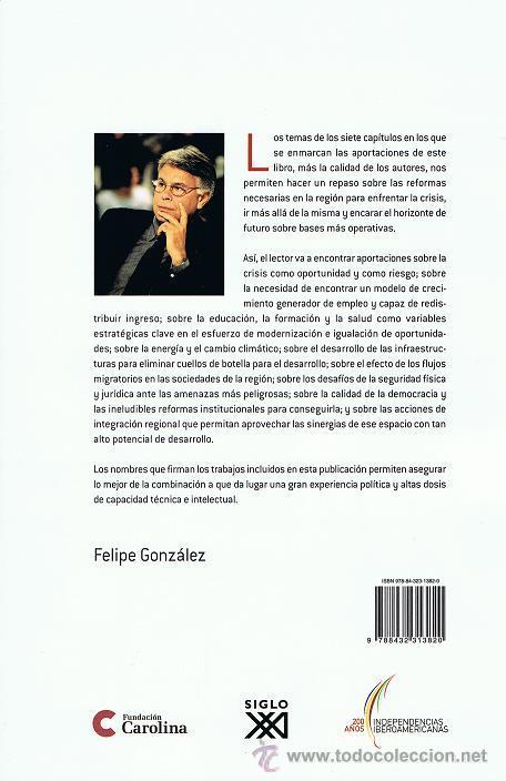 Libros de segunda mano: IBEROAMERICA 2020: RETOS ANTE LA CRISIS (FELIPE GONZALEZ, ED.) - Foto 2 - 19228726