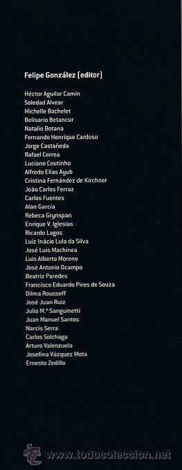 Libros de segunda mano: IBEROAMERICA 2020: RETOS ANTE LA CRISIS (FELIPE GONZALEZ, ED.) - Foto 3 - 19228726