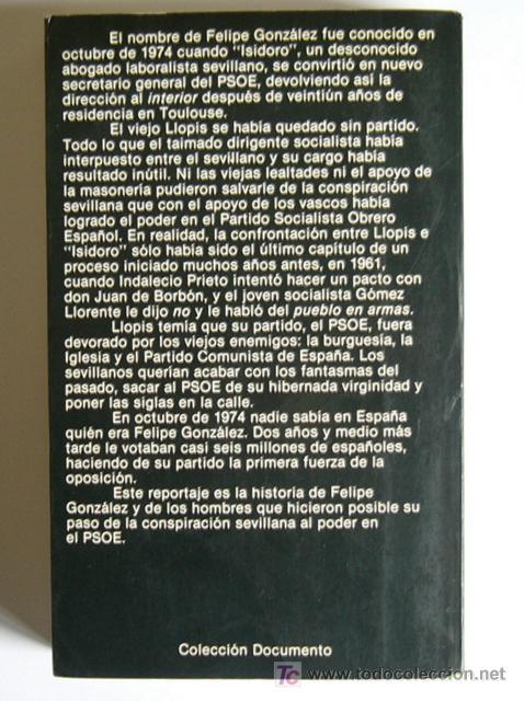 Libros de segunda mano: FELIPE GONZALEZ - UN HOMBRE A LA ESPERA - EDUARDO CHAMORRO - PROLOGO DE FELIPE GONZALEZ - Foto 2 - 19726291