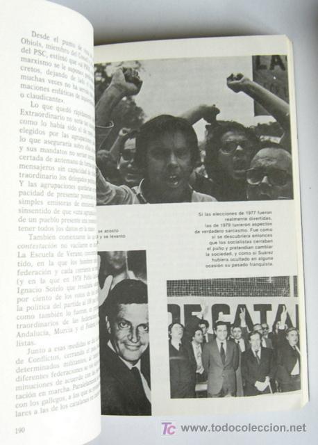 Libros de segunda mano: FELIPE GONZALEZ - UN HOMBRE A LA ESPERA - EDUARDO CHAMORRO - PROLOGO DE FELIPE GONZALEZ - Foto 4 - 19726291