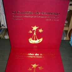 Libros de segunda mano: O CAMIÑO DE SANTIAGO EL CAMINO DE SANTIAGO LE CHEMIN DE SAINT-JACQUES GALICIA IR INDO 1992 RM44564. Lote 26469790