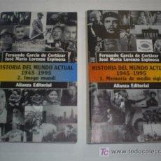 Libros de segunda mano: HISTORIA DEL MUNDO ACTUAL 1945 – 1995 1 MEMORIA DE MEDIO SIGLO 2 IMAGO MUNDI 2 TOMOS RM45889. Lote 20724713