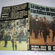 Libros de segunda mano: LA NOCHE DE LOS CUCHILLOS LARGOS NICOLAI TOLSTOY SAN MARTÍN 1975 RM41782. Lote 21306059