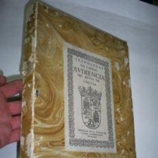 Libros de segunda mano: ORDENANZAS DE LA REAL AUDIENCIA DEL REYNO DE GALICIA EDICIÓN FACSIMIL DE 1679 1974 RM46629-V. Lote 26598989