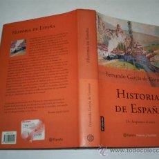 Libros de segunda mano: HISTORIA DE ESPAÑA DE ATAPUERCA AL EURO FERNANDO GARCÍA DE CORTÁZAR PLANETA 2002 RM41077. Lote 21716199