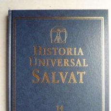 Libros de segunda mano: HISTORIA UNIVERSAL SALVAT,- Nº 14, EL IMPACTO DE LA REVOLUCION FRANCESA. (VER FOTOS).. Lote 21568159