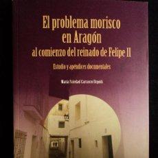 Libros de segunda mano: ARAGON.EL PROBLEMA MORISCO AL COMIENZO DE FELIPE II. SOLEDAD CARRASCO.EST.MUDEJARES. 2010 176 PAG. Lote 21574752