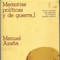 Libros de segunda mano: MEMORIAS POLÍTICAS Y DE GUERRA - I. Lote 21849941