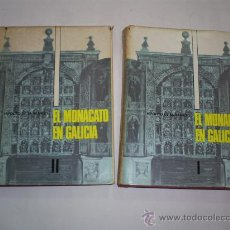 Libros de segunda mano: EL MONACATO EN GALICIA 2 TOMOS HIPÓLITO DE SÁ BRAVO LIBRIGAL 1972 RM40628. Lote 27159778