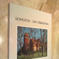 Libros de segunda mano: LIBRO DE: DONOSTIA - SAN SEBASTIAN, CURIOSIDADES, EDITADO POR AYUNTAMIENTO Y C.DE A.Y T. NUEVO. Lote 26039974