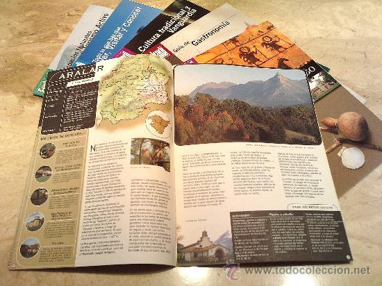 Libros de segunda mano: 6 Libritos de diversos temas, Euskadi Pais Basko con mucho gusto, peso unidad 200 gr, tamaño 21 x 30 - Foto 2 - 27302105